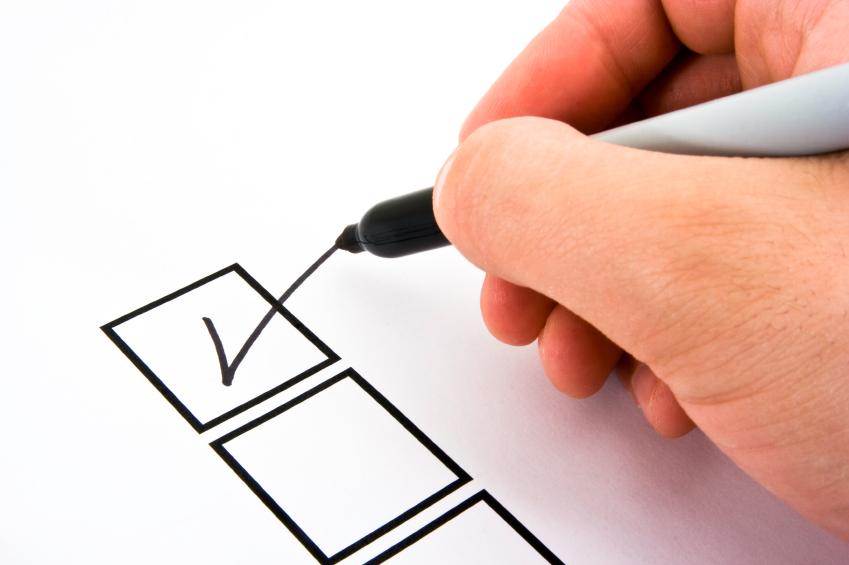 checklist auto occasion